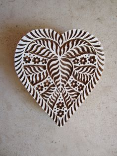 Hand-carved love heart block print by Queen and Swan, Etsy Indian Block Print, Indian Prints, Stamp Printing, Printing On Fabric, Textile Prints, Textiles, Stamp Carving, Handmade Stamps, Fabric Stamping