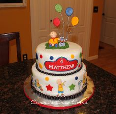 Caillou Birthday!