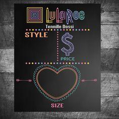 LuLaRoe  sign looks like chalkboard  by MichelleRayeDesigns