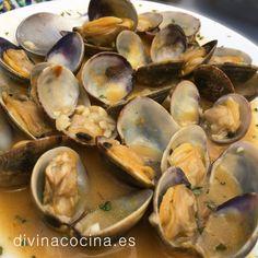 Almejas al ajillo » Divina CocinaRecetas fáciles, cocina andaluza y del mundo. » Divina Cocina