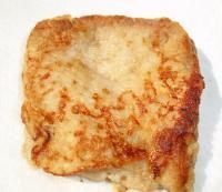 Banana toast -- 1 small, ripe banana 2 fl oz (1/4 cup) breast milk, formula or whole milk pinch cinnamon whole wheat bread, cut into squares Blend the bana...