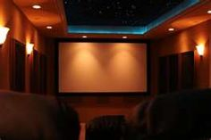 movie theater in my home...only in a perfect world