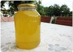 Elderflower liqueur recipe - the taste of spring sunlight. Preserve the spring sunlight in a bottle with this amazing homemade elderflower liqueur recipe.