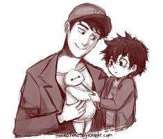 Tadashi And Hiro by bookaholic5.deviantart.com on @DeviantArt