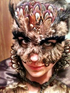 Snow owl specialty custom animal masks owls pinterest animal great horned owl costume mask i made halloween 2010 solutioingenieria Image collections