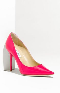 hot pink Jimmy Choo heels!