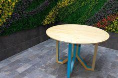 Zada,madera de pino y laca de color. Ensamblable. Diseño por abedul diseño industrial. www.abeduldi.com