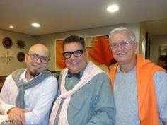 Marcelo Alarcon, Ruy Barrozo e Luiz Antonio Oliveira