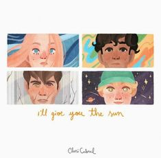 I'll give you the sun fanart Fanart, Narnia, Power Rangers, Nelson Books, Good Books, My Books, The Scorpio Races, Jandy Nelson, Eleanor And Park