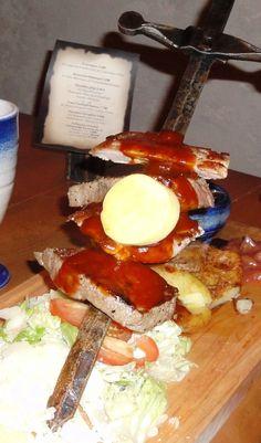 Viking restaurant Harald - sword
