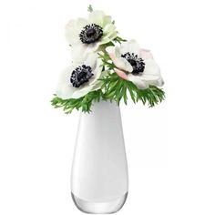 Vase, Flower Colour weiß