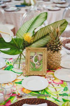 10 inspirations exotiques pour numéroter vos tables de mariage - Les idées…