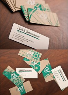 Unique Business Card, Cycle On #businesscards #design (http://www.pinterest.com/aldenchong/)