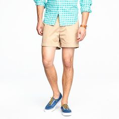 """jcrew 5"""" essential chino shorts...simply, the best."""