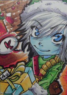 Christmas Tristana / League of Legends by AniYoo