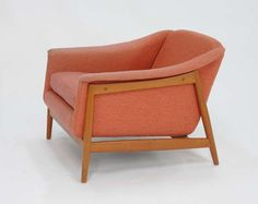 Folke Ohlssen Club Chair for Dux | From a unique collection of antique and modern lounge chairs at https://www.1stdibs.com/furniture/seating/lounge-chairs/