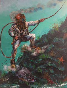 The Glorious Deep Sea Works of Richard Armstrong