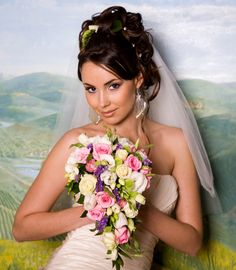 Beautiful Wedding Hairstyles For Medium Hair