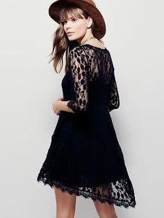 kup damskie z wycięciami Seksowna koronkowa sukienka & Sukienki - w Jollychic