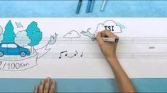 Volkswagen rolls out Think Blue Symphony ad campaign - YouTube