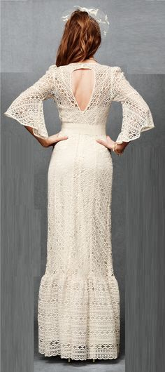 Greenbow Lace Gown bhldn