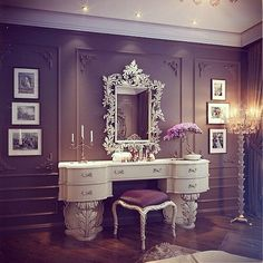 Luxury vanity luxury vanity tables the orphanage beauty room vanity room and home luxury bath vanity Vanity Room, Vanity Set, Vanity Ideas, White Vanity, Diy Vanity, Vanity Decor, Mirror Ideas, Closet Vanity, Small Vanity