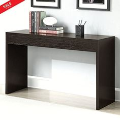 Foyer Entry Table Woodgrain Console Sofa Side Table Foyer Accent Entry Console Furniture Decor Living Room Unique Minimal Contemporary Design & eBook by BADA shop