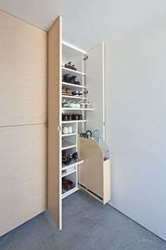 Possible idea for shoe cabinet interior
