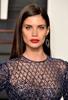 Sara Sampaio || 2016 Vanity Fair Oscar Party