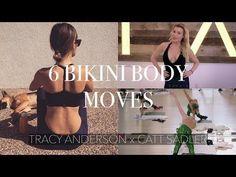 TRACY ANDERSON X CATT SADLER    6 Bikini Body Moves - YouTube #corecardioworkout