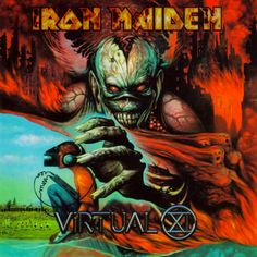 Iron Maiden - Virtual XI - 1998 Album Cover