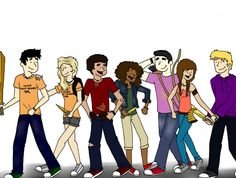 Seven Half-Bloods Shall Answer The Call by ~excarlabur on deviantART