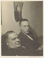 Joseph Stella and Marcel Duchamp (Getty Museum)