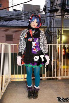 Harajuku Fashion Walk #8 - Takabou
