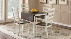 Velino White 5 Pc Rectangle Dining Set from  Furniture