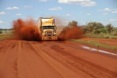 TV Show Outback Truckers Australia Road Train Wallpaper