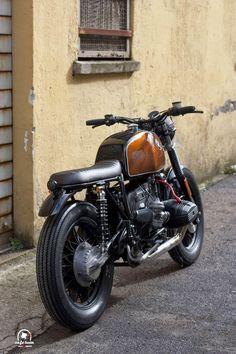 "RocketGarage Cafe Racer: Bmw R100 ""Cointreau"""