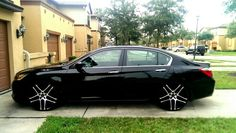 Love love loveeee this car!   2014 Honda Accord Sport - We love how this Accord was dressed up with new rims! Custom installs is the name of the game at Champion! Come on down! 732-313-7764 or Email: info@championautosports.net http://championautosports.net/