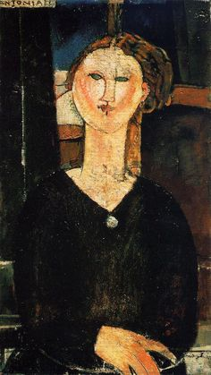 Antonia by Amedeo Modigliani #art