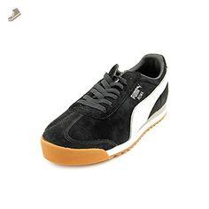 Puma Roma Ll Nbk 2 Fashion Sneaker,Black/White/Ash,13US/ D US - Puma sneakers for women (*Amazon Partner-Link)