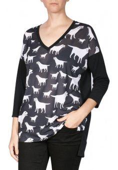 Blusa Prima Decote V cachorrinhos! Olha só que modelagem despojada!! Veja mais como essas em nosso site de compra online! Usenatureza.com