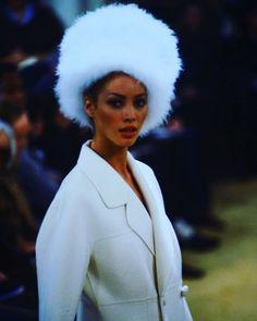 Christy Turlington PRADA Runway 1991