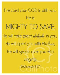 Mighty to Save - Zephaniah 3:17