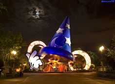 The removal of the Sorcerer's Hat at Disney's Hollywood Studios begins January 7, 2015 and will occur in phases.