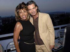 Tina Turner and Erwin Bach....