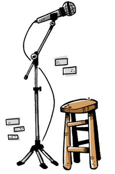 Perform stand-up comedy