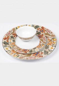 Lakline Porcelain Dinner Set (18 Pcs) Indian Wedding Gifts, Dinner Sets, Bowl Set, Porcelain, Plates, Tableware, Decor, Licence Plates, Porcelain Ceramics