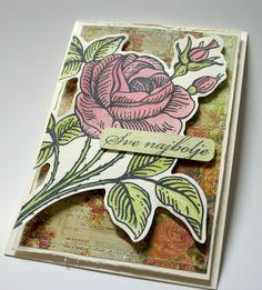 A simple vintage card