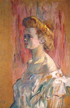 Prostitute the Sphinx - Henri de Toulouse-Lautrec