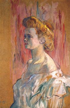 The Sphinx - Henri de Toulouse-Lautrec